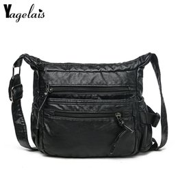 slings bags for women Canada - PU Leather Ladies Messenger Bags Small Totes Mother Purse Handbag Single Strap Sling Shoulder Bag for Women