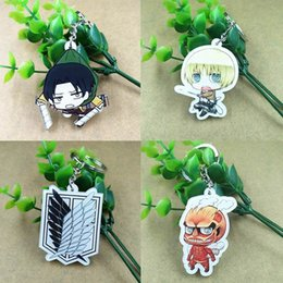 $enCountryForm.capitalKeyWord Australia - Anime Accessories Mini Doll Keychain Backpack Pendants Key Chain Silicone Anime Figure Keyring Accessories