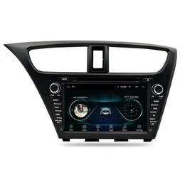 touch screen radio for honda NZ - Android car multimedia player radio am fm free map multi-touch screen for Honda civic hatchback 2013-2015 8inch
