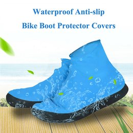 woods covers Australia - 1Pair Elastic Protective Thick Sole Waterproof Cycling Shoe Cover Outdoor Reusable Accessories Foot Wear Anti Rain Emulsion