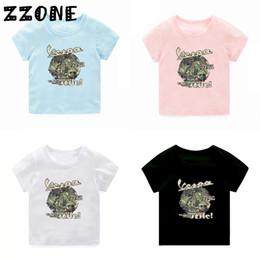 $enCountryForm.capitalKeyWord Australia - Baby Summer Clothes Boys Girls Car Styling Vespa Print T Shirt Kids Funny Short Sleeve Tops Children Casual T-Shirt,5111B