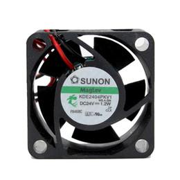 AxiAl fAns online shopping - Taiwan SUNON KDE2404PKV1 V W maglev fan CM power supply axial cooling fan