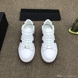 $enCountryForm.capitalKeyWord Australia - Brand 18ss Shoe Cloudbust P Causal Shoe Magic Tie Slip On Spring New White Brown Black Men Shoe 38-44 010334