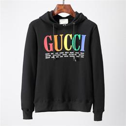 607324ab Brand hoodies 2019 Designer Men Hoodie Sweatershirt Sweater Mens Hoodies  Luxury Brand Clothing Thin Long Sleeved Youth Movements Streetwear