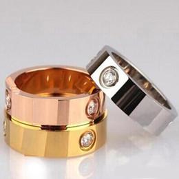 $enCountryForm.capitalKeyWord Australia - Luxury Rings Love Ring for Women Men Jewelry Titanium Steel Couple Valentine's Day Promise Engagement Wedding Anniversary Best Gift M035F