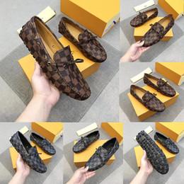 Yüksek Kaliteli Lüks Markalar Set Ayak Uygun Deri Ayakkabı Kalite Sıcak Satış Yeni Varış Erkekler Izgara Rahat Hakiki Deri Alt Tasarımcı