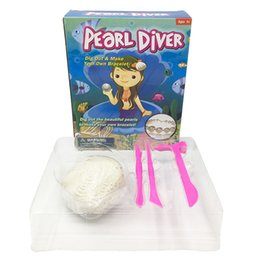 New model kids online shopping - Pearl Diver Simulation Archeology Toy Child Early Education Puzzle New Exotic Fossil Mining Toys Model Plaster Creative ty I1
