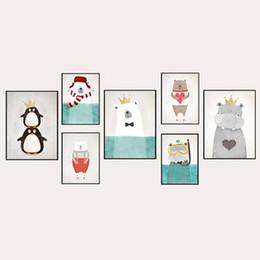 Kinder Leinwand Kunst Tiere Online Großhandel ...