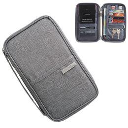 $enCountryForm.capitalKeyWord Australia - Brand Women Travel Waterproof Card Bag Men Fashion Holder Card Pack Wallet Organizer Pocket Passport Documents Bag