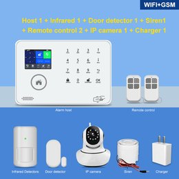 gsm home security systems Australia - Home Security Alarm System Wifi Wireless 433MHz Remote Control Tuya Smart 3G 4G Gsm alarm system