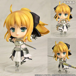 Saber Lily Figure Australia - NEW 10cm Fate stay night Saber Lily Action figure toys doll Christmas gift with box