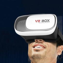 Vente en gros Réalité virtuelle 3D VR Verres Usine Seconde Génération VRBOX3D Verres Téléphone Mobile Cinéma Privé