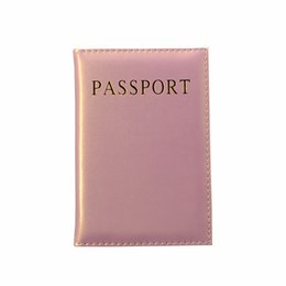 $enCountryForm.capitalKeyWord NZ - Universal Travel Passport Cover Women Pu Leather Cute Pink Holder Passport Lovely Girl Pasaport Case Travel Covers For Passports