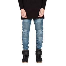 9dcf981a9f3 Streetwear Mens Ripped Biker Jeans Homme 2019 New Mens Fashion Motorcycle Slim  Fit Moto Denim Pants Joggers Skinny Pants