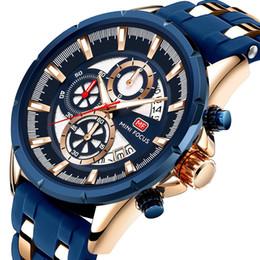 $enCountryForm.capitalKeyWord Australia - More Function Motion Male Wrist Watch Calendar Noctilucent Waterproof Silica Gel Watchband