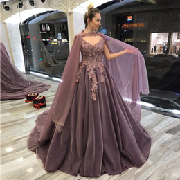 Coral Beads Making Australia - V Neck Ball Gown Quinceanera Dresses with Wrap Appliques Bead Sequined Pleat Make Up Dress for Girls Puffy Tulle Skirt Prom Gown