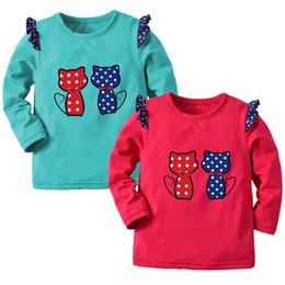 c8e51cf65 Buena calidad Ropa para niños sudadera Kids Boy Cartoon Cat Print Warm Tops  Sudadera Pullover Ropa traje deportivo para niños