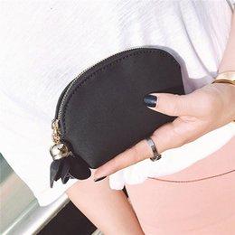 $enCountryForm.capitalKeyWord Australia - 2019 Vintage Women Wallets Keychain Coin Pouch PU Leather Portable Mini Zipper Change Purse Coin Pockets Simple Change Wallet