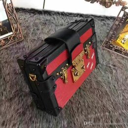 $enCountryForm.capitalKeyWord Australia - Hot Selling Luxury Handbags Evening Bags Leather Fashion Box Wholesale Designer Clutch Brick Famous Messenger Shoulder Bags