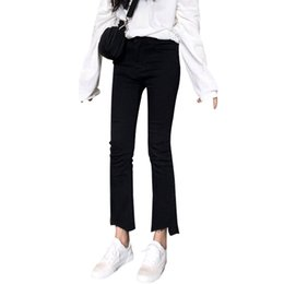 f015e3edbad 2019 Spring With High Waist Female Boyfriend Jeans For Women Trousers Denim  Loose Pants Ripped Jeans Woman Plus Size Jean Female