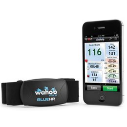 Function Suits Australia - Wahoo Blue HR Heart Rate Monitor Waterproof Wireless Analysis Function Exercise Heart Rater Sensor suit for Garmin #509915