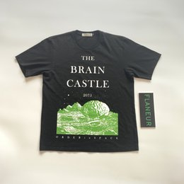 t shirt asap Australia - Summer Mens T Shirts UNDERCOVER THE BRAIN CASTLE2075 ASAP Rocky Fashion Long Sleeve Cotton Casual d10