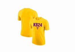 Lakers T-Shirt Black Mamba T-Shirt Mann-Sommer-Multiple Color Reine Baumwolle Material T-Shirts Sport Basketball Kurzarm-Shirt T-Shirt 14