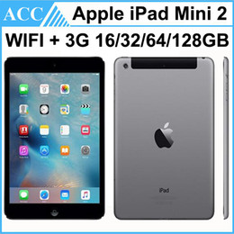 ipad tablet 16gb 2019 - Refurbished Original Apple iPad Mini 2 WIFI + 3G Cellular 16GB 32GB 64GB 128GB 7.9 inch Retina IOS Dual Core A7 Chipset