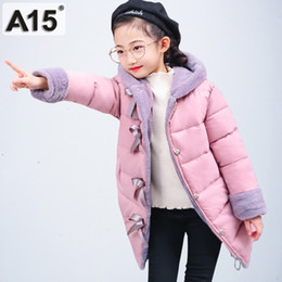 2be49143d759 A15 2019 girls winter coats hooded toddler clothes parks size 4 6 8 children  jackets for girls kids outerwear teen 10 12 14 Year