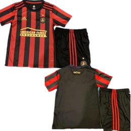 64633abda 2019 2020 MLS Parley Atlanta United FC Soccer Jerseys 10 ALMIRON MCCANN  VILLALBA 7 MARTINEZ GARZA Custom Home Away Adult Kids Football Shirt