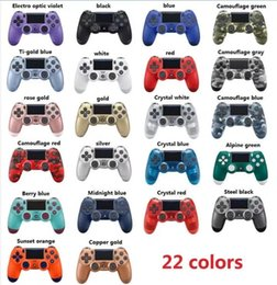 Ps4 colors online shopping - Newest Wireless Bluetooth Game Controller for PS4 Game Controller Gamepad Joystick for Android Video Games With Retail Box Colors DHL