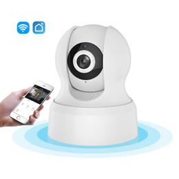 Cctv Vision Australia - 720P HD Wi-Fi IP Camera Smart Living Wireless Network Night Vision CCTV Camera Compatible with Amazon Alexa Echo Google Home
