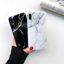 New chegou de alta qualidade por atacado para iphone xs max xr x 8 7 além de moda de mármore macio tpu img case telefone celular capa protetora case em Promoção