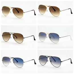 солнцезащитные очки оригинальный пилот дизайн UV400 стекло сделано линзы мужчины женщины солнцезащитные очки des люнеты де солей бесплатные кожаные чехлы, аксессуары, коробка! на Распродаже