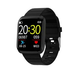 watches polishing Australia - Newest Smart Watches 116 Pro Heart Rate Fitness Tracker Call Reminder Wristband Bracelet for IOS Android Smart phone drop shipping