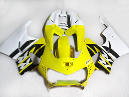 cbr919 fairings UK - High quality fairing kit for Honda CBR900 RR fairings 98 99 CBR900RR yellow white black motorcycle set CBR919 1998 1999 HG99