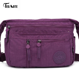 $enCountryForm.capitalKeyWord Australia - Tegaote Fashion Multi Zipper Pocket Women Small Mini Shoulder Messenger Crossbody Bag Ladies Satchel Handbag Cellphone PouchMX190823