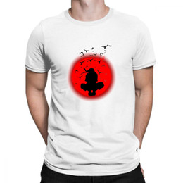 Naruto Prints Shirts Australia - Naruto T Shirt Men Anime Clothes City Character Japan Style Space Print T-shirt Funny T Shirts Cool Mens Clothing Aesthetic Tees