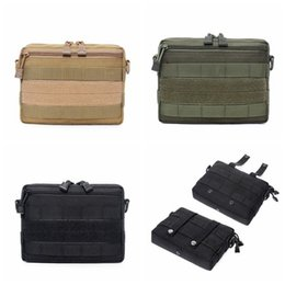 Molle Pack Black Australia - Tactical Pouch Molle Sub-package Hunting Bags Belt Waist Bag Fanny Pack Outdoor Pouches Phone Case Pocket
