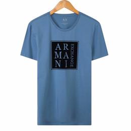 T Shirt Hip Hot Australia - Hot AX T shirts USA brand mens Tshirt designer ladies Tshirts top quality O'Dell summer tee street hip-hop casual shirt size tshirt M-XXXL