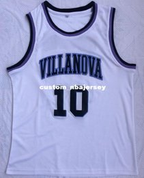 Cheap custom Donte DiVincenzo Villanova  10 Jersey Stitched Customize any  number name MEN WOMEN YOUTH XS-5XL 37a357825