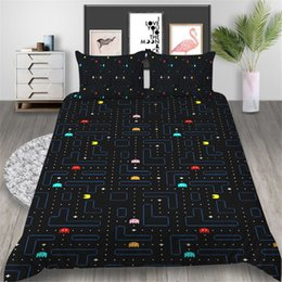 queen games Australia - Pixel War Bedding Set Game Fashionable Classic Duvet Cover King Queen Twin Full Single Double Comfortable Bed Cover with Pillowcase
