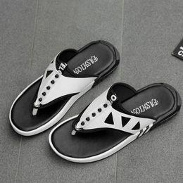 b0f65b0d8c7a0b Summer new men s flip-flops sandals men s non-skid sandals personalized  beach leisure shoes