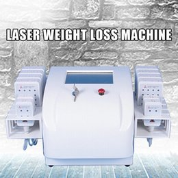 $enCountryForm.capitalKeyWord Australia - Professional Portable Diode Lipolaser Lipo Laser Weight Loss Non Invasive 12 Pads 650nm&980nm Slimming Machine Fat Burning Beauty Instrument
