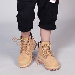 Boot shoes timBer online shopping - Timber Inch Classic Boot Toddler Shoes Waterproof Kids Sneakers Wheat Black Pink Nubuck Boys Girls Children Martin Shoes Size