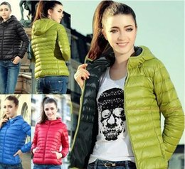 down padded ladies coats UK - New Fashion Ladies Down Short Design Coat Winter Cotton-padded Jacket Women Slim Solid Zipper