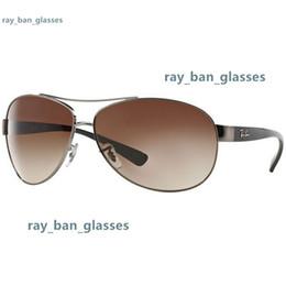 Ray Bans Glasses Australia - 2019 Men Women Ben Glass bain Lenses With Case Ray Brand Sunglasses Vintage Pilot wayfarer Sun Glasses Bans UV400 3386