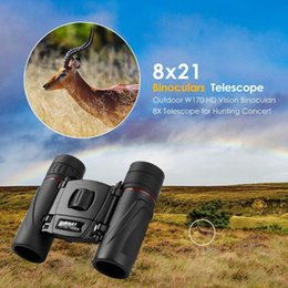 Telescope 8x21 online shopping - Outdoor W170 HD Vision Binoculars X Telescope for Hunting Concert x21
