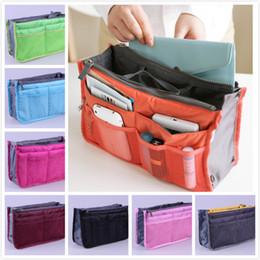 GaraGe storaGe orGanizers online shopping - Toiletries Storage Bag Women Insert Handbag Organizer Purse Makeup Case Storage Liner Bag Tidy Travel Insert Storage Bags