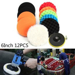 Thickness car online shopping - Sponge Polishing Pads Set Wool cm quot Thickness For Car Polisher Buffer Set Durable